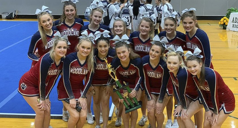 Woodland takes 1st place at Adairsville